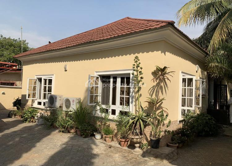 Luxury 4 Bedroom Bungalow, Wuse, Abuja, Detached Bungalow for Sale