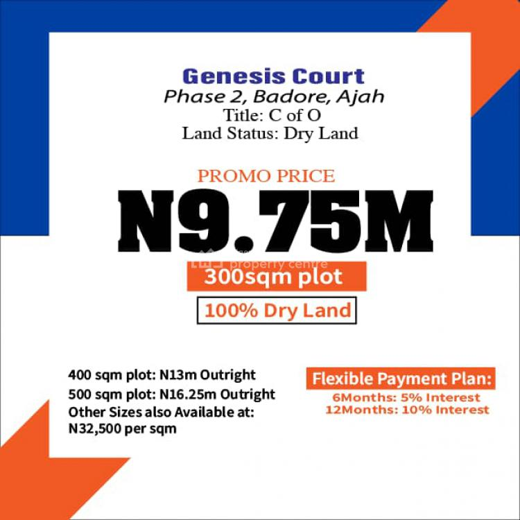 Well Developed and Peaceful Estate to Live, Badore, Ajah, Lagos, Residential Land for Sale