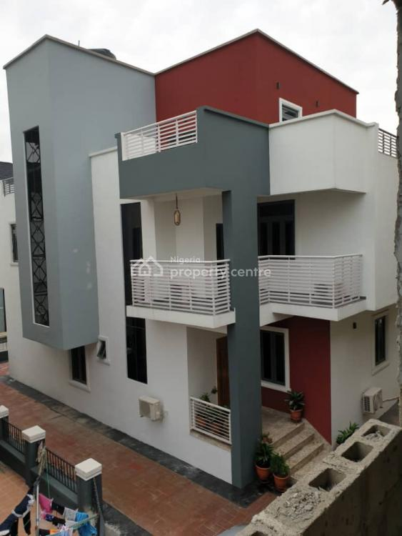 5 Bedroom Detached House with a Room Bq in a Serene Neighborhood, Osapa, Lekki, Lagos, Detached Duplex for Rent
