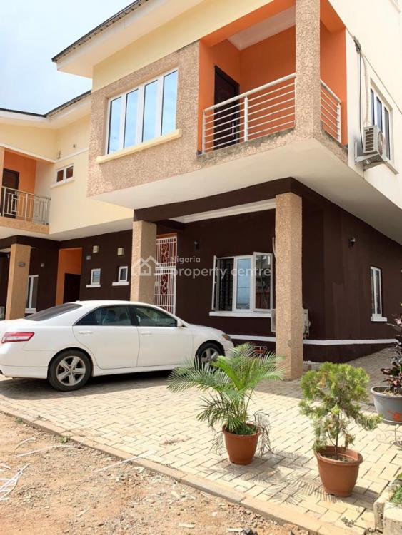 4 Bedrooms Terraced Duplex with 2 Sitting Rooms and Bq in an Estate, Paradise Estate, Life Camp, Abuja, Terraced Duplex for Sale