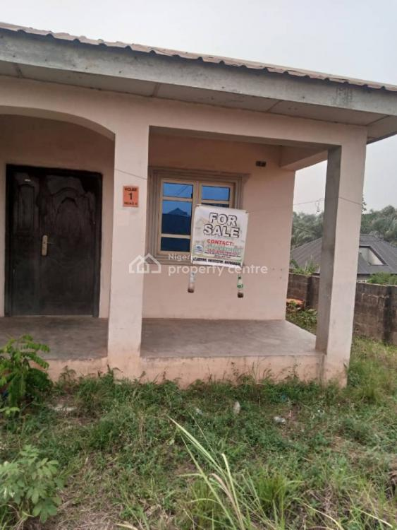 Detached 2 Bedrooms and Mini Flat on a Plot, Mokogi Area, Magboro, Ogun, Detached Bungalow for Sale