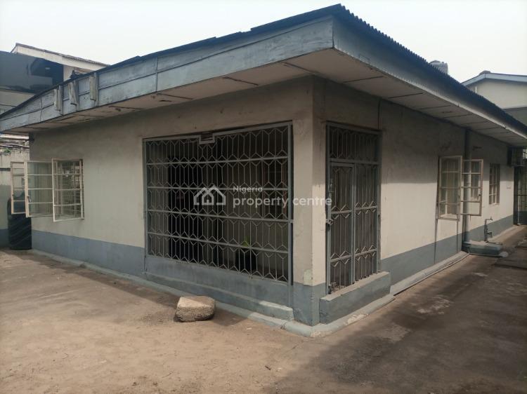 a 3 Bedroom Bungalow + 4 Bedroom Detached Duplex, Masha, Surulere, Lagos, Office Space for Rent