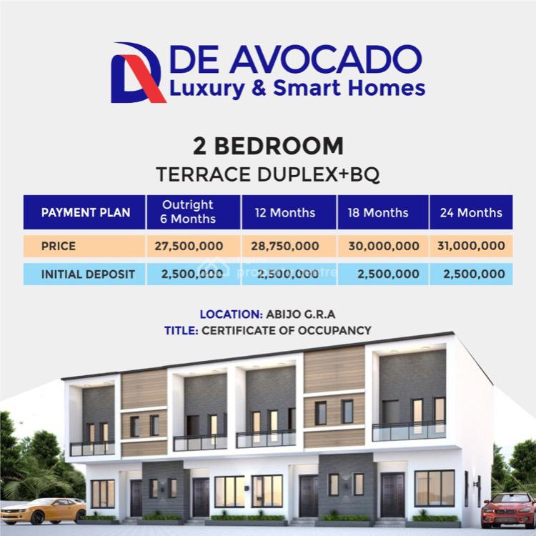De Avocado Luxury and Smart Homes, Abijo, Gra, Abijo, Lekki, Lagos, House for Sale