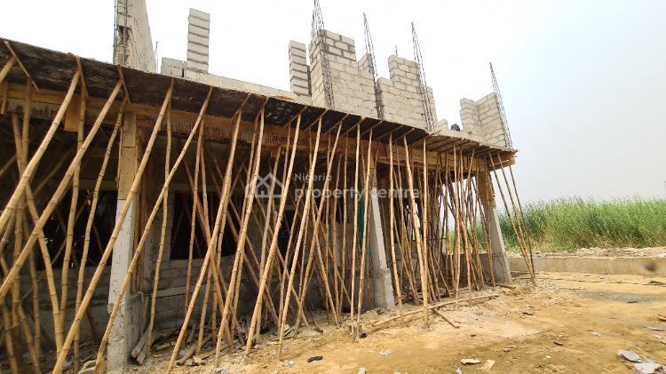 60% Completed Affordable Off Plan 4 Bedroom Terraces Duplexe, Harris Crescent Road, By Vgc Estate, Atlantic Ville Estate,, Ikate Elegushi, Lekki, Lagos, Terraced Duplex for Sale