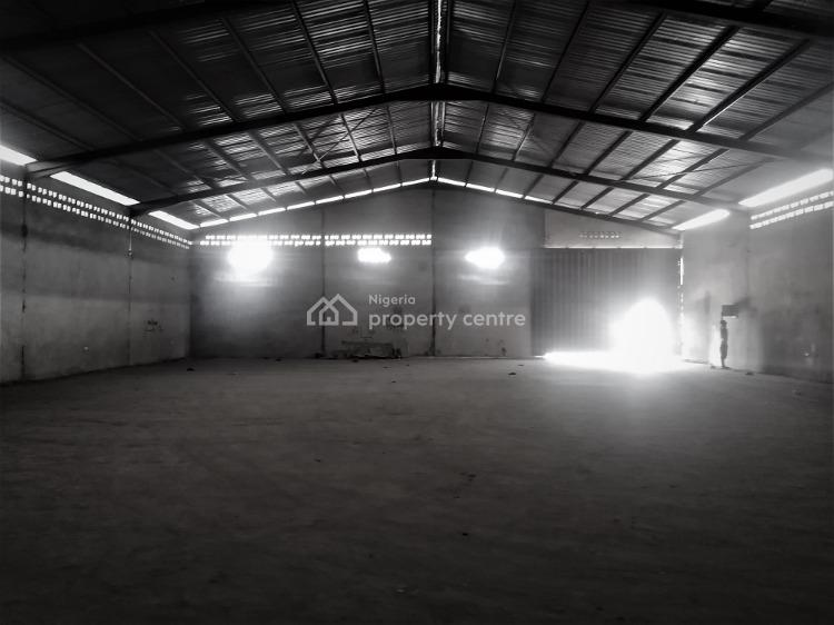 Warehouse Capacity of 8,500 Sqft Exclusive Compound, Okota, Isolo, Lagos, Warehouse for Rent