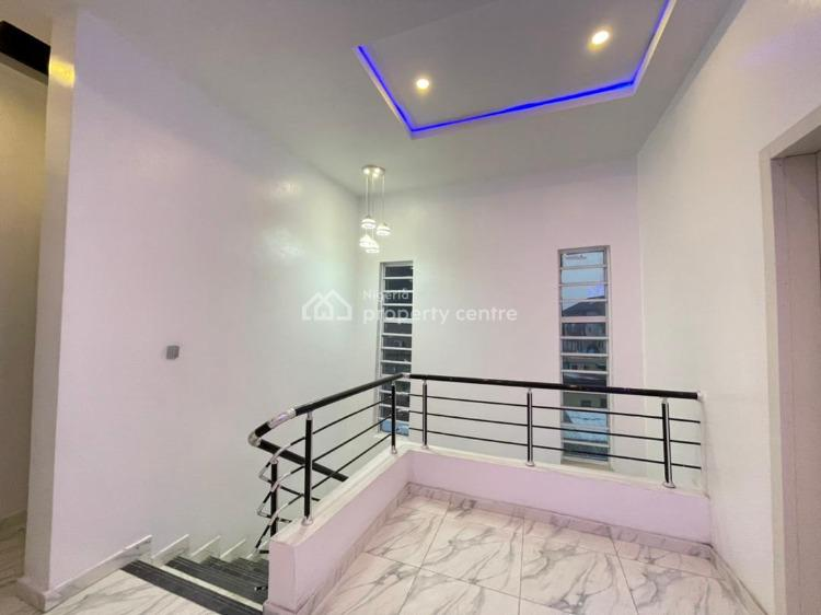 Newly Finished 4 Bedrooms Detached Duplex with Bq, Osapa, Lekki, Lagos, Detached Duplex for Sale