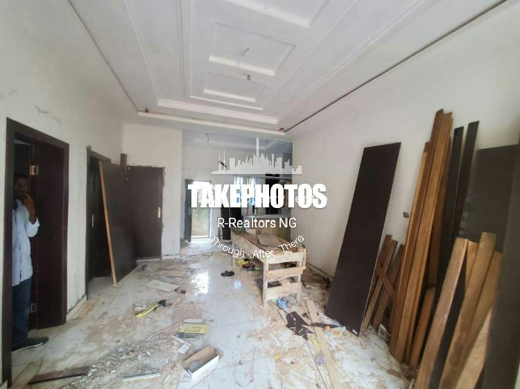 Newly Built 3 Bedroom Flat, Chevron, Lekki, Lagos, Flat for Rent