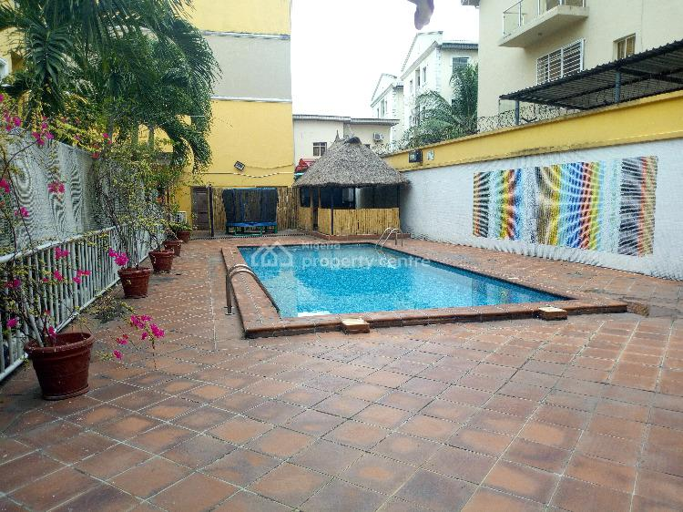 Serviced 4 Bedroom Terrace Duplex with a Servant Quarter in an Estate, Parkview, Ikoyi, Lagos, Terraced Duplex for Rent