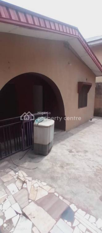 Spacious 3 Bedrooms Bungalow, Walter Sifre, Ifako, Gbagada, Lagos, Flat for Rent