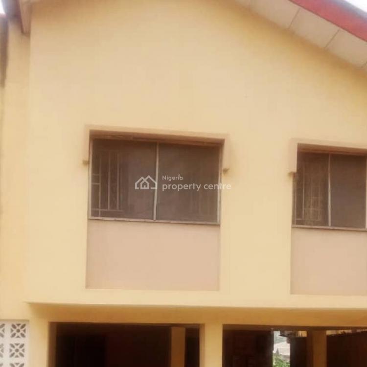 Spacious Upstairs  3 Bedroom Flat, Off Mobil Okeira, Ogba, Ikeja, Lagos, Flat for Rent