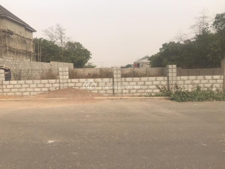 Fully Fenced & Well Secured Residential Landuse Build & Live, By Naval Senior Quarters, Jahi, Abuja, Residential Land for Sale