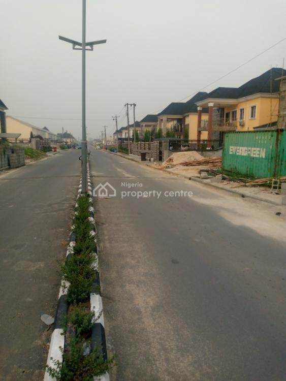 a Standard 4 Bedroom Duplex with a Room Bq, Naf Harmony Estate, By Airforce Road, Eliozu, Port Harcourt, Rivers, Semi-detached Duplex for Sale