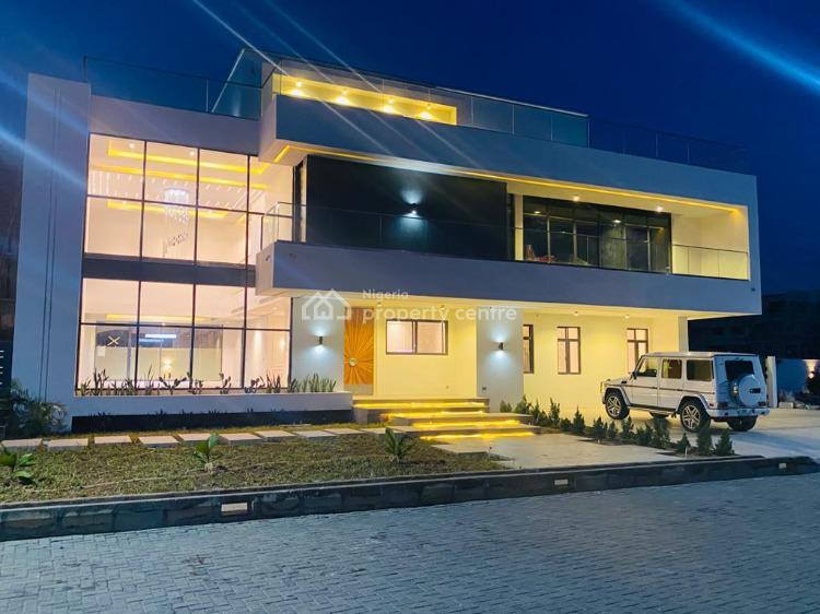 Super Luxury Experience - 6 Bedrooms Detached + 2 Bedrooms Bq, Shoreline Drive, Off Onikoyi Road, Banana Island, Ikoyi, Lagos, Detached Duplex for Sale