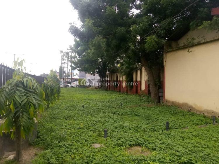 Solid 7 Bedrooms Commercial Building on 1,213 Square Meters Land, Along Ogunnusi Road, Omole Phase 1, Berger, Ikeja, Lagos, Detached Duplex for Sale