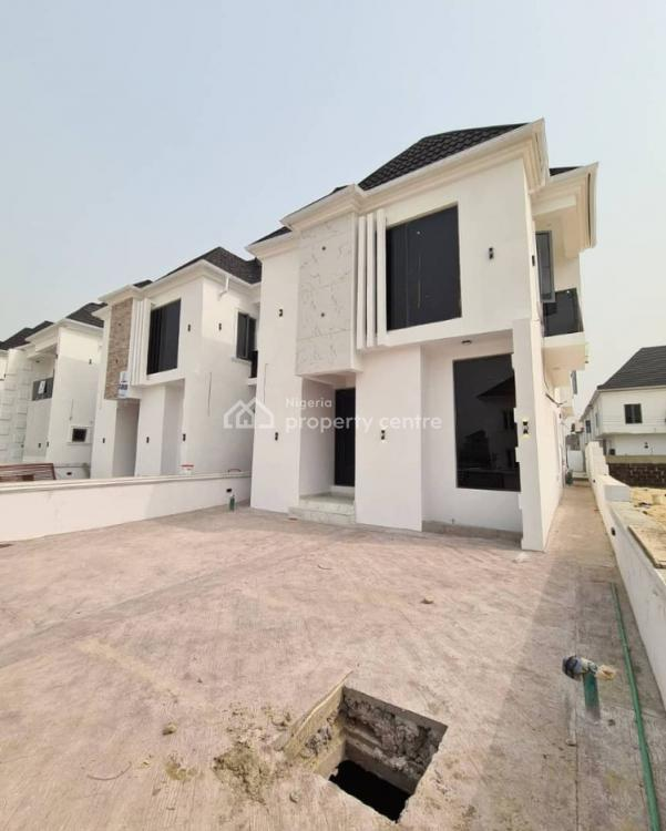 Newly Built 4 Bedroom Fully Detached House with a Bq and Swimming P, Ajah, Lagos, Detached Duplex for Sale