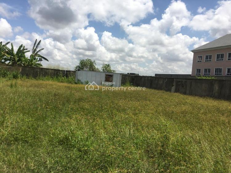 Fully Fenced Land on 686sqm with a Standard 2 Bedroom Flat, Spg Road, Ologolo, Lekki, Lagos, Residential Land for Sale