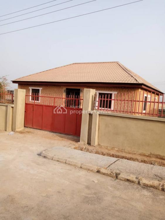 Brand New 3 Bedroom Fully Detached Bungalow on a Tarred Road, El Rufai Estate, Kuje, Abuja, Detached Bungalow for Sale