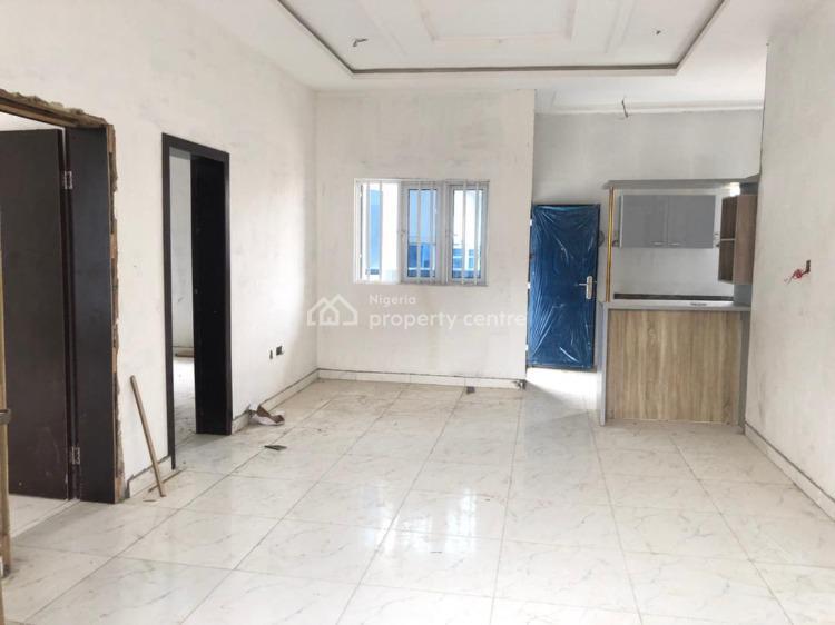 Nicely Built Spacious 2 Bedroom Ensuite Serviced Flats, Chevron, Lekki, Lagos, Flat for Rent