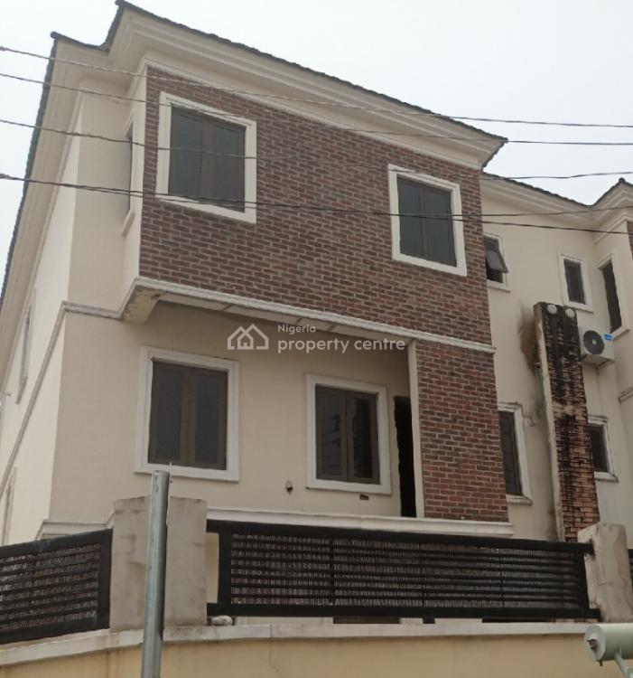 a 4 Bedroom Semi-detached Duplex Carcass, Osapa, Lekki, Lagos, Terraced Duplex for Sale