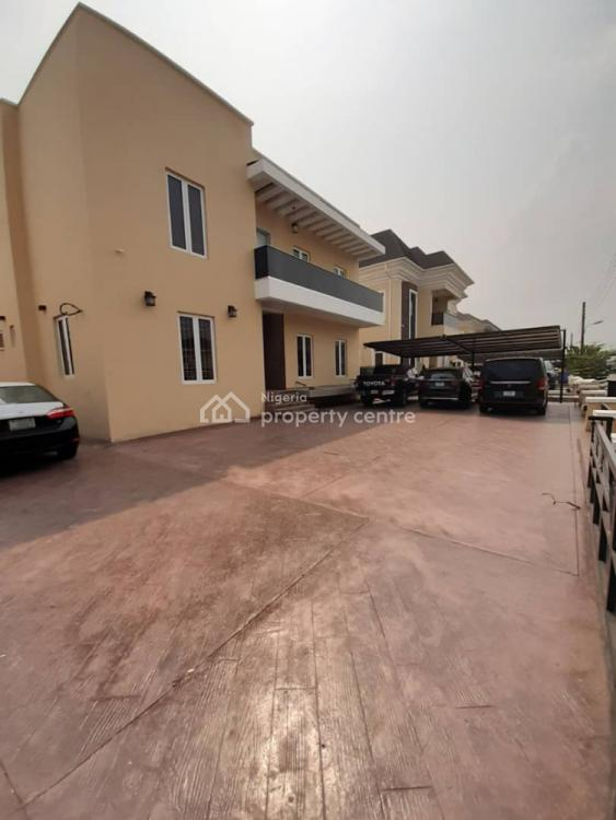 Newly Built 5 Bedroom Detached House with 2 Rooms Boys Quarters, Northern Foreshore Estate, Off Chevron Drive, Lekki, Lagos, Detached Duplex for Sale