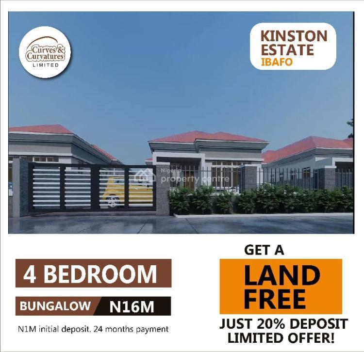 Land, Kinston Estate I, Ibafo, Ogun, Detached Duplex for Sale