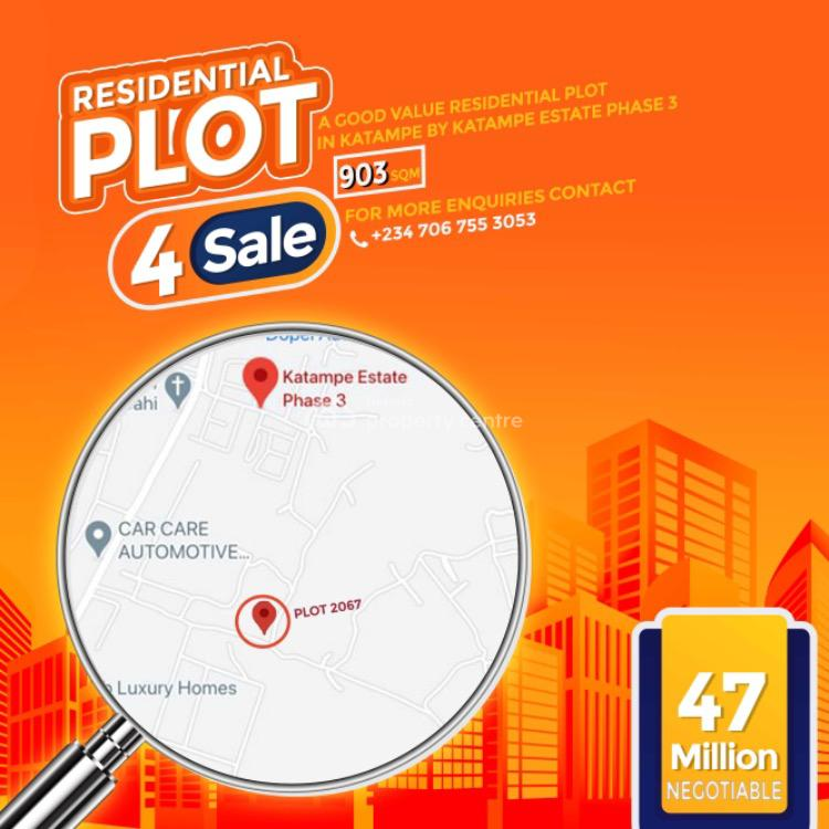 Good Value Residential Land, Katampe Main, Katampe, Abuja, Residential Land for Sale