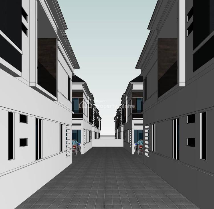 Luxury 4 Bedrooms Terraced Duplex with Corner Piece, Orchid, Lekki Expressway, Lekki, Lagos, Terraced Duplex for Sale