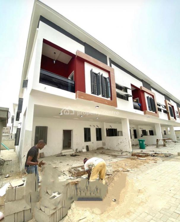 4 Bedrooms Terraced Duplex with a Bq, 2nd Tollgate, Lekki, Lagos, Terraced Duplex for Sale