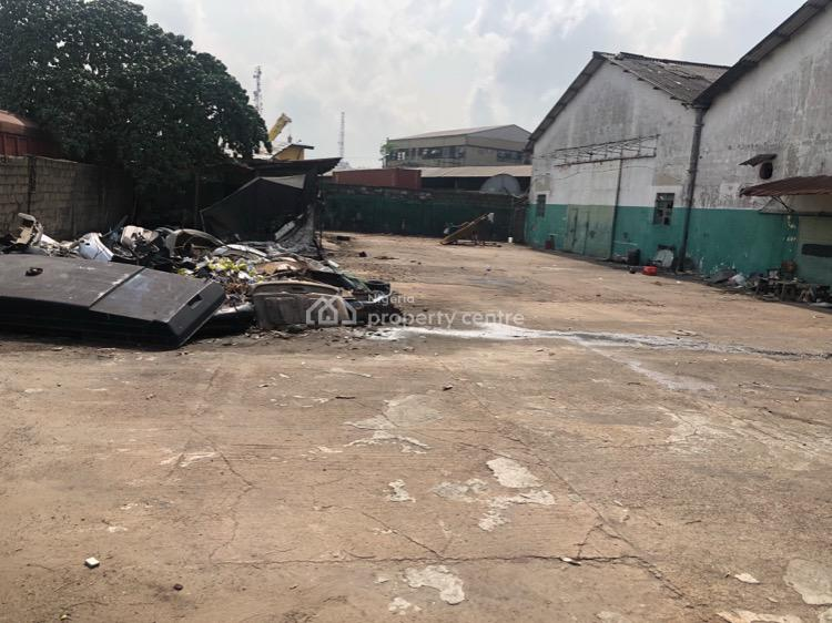 2 Bay Warehouse with a Mechanic Workshop, 13, Commercial Road, Apapa Wharf, Apapa, Lagos, Warehouse for Sale