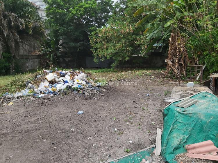 411sqm Partitioned Plot with a Driveway, Mekunwen, Ikoyi, Lagos, Residential Land for Sale