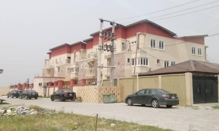 Well Built 4 Bedrooms Terrace Duplex with Bq, Off Circle Mall (shoprite) Drive, Agungi, Lekki, Lagos, Terraced Duplex for Sale