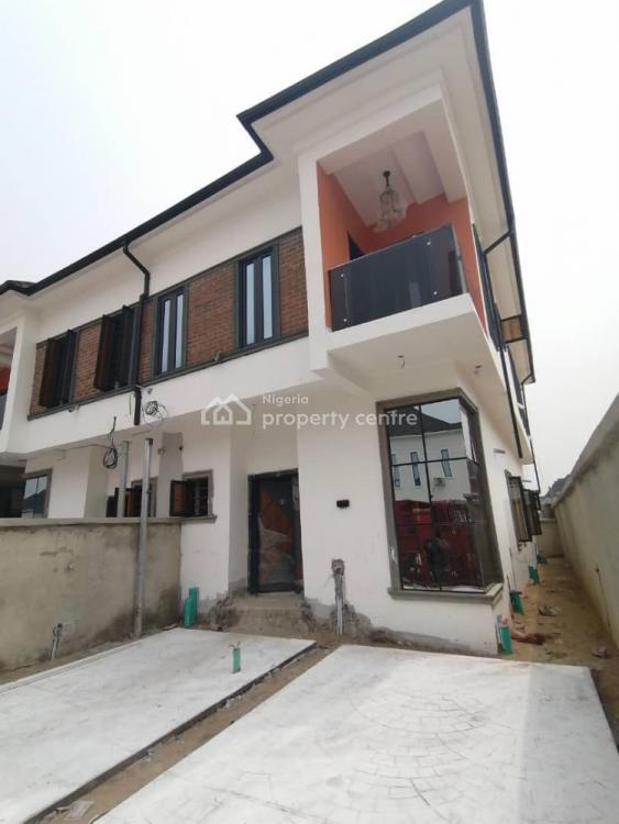 Newly Built 4 Bedrooms Semi Detached Duplex. 90% Finished, Ikota, Lekki, Lagos, Semi-detached Duplex for Sale