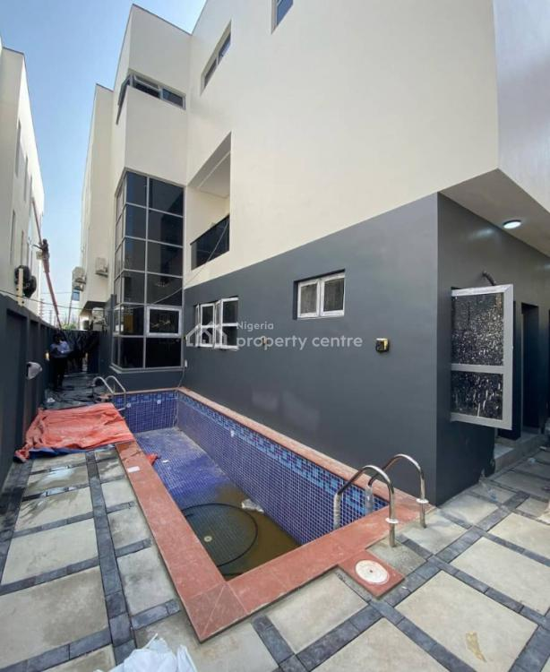 Contemporary Styled 5 Bedroom Fully Detached Duplex with 2 Rooms Bq, Lekki Phase 1, Lekki, Lagos, Detached Duplex for Sale