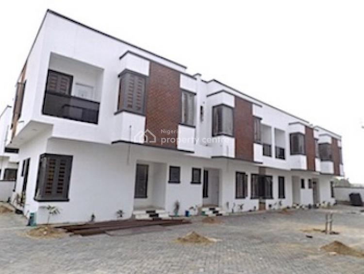 New House 4 Bedrooms Terraced Duplex with + 24 Hours Power, Lekki Phase 2, Lekki, Lagos, Terraced Duplex for Sale