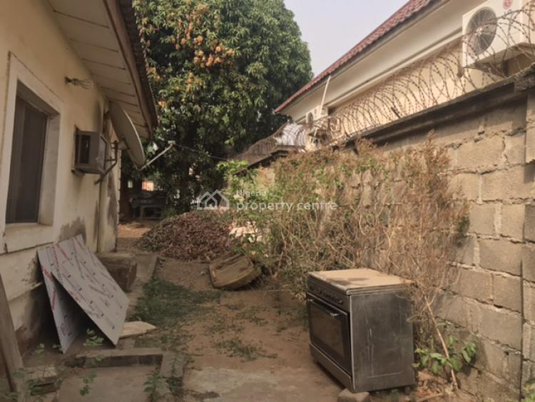 Fully Fenced Residential Landuse with an Old 3 Bedrooms Bungalow, Fcda/ Juiluis Berger Staff Quarters, Opposite Fct Ministers Residence, Life Camp, Abuja, Detached Bungalow for Sale
