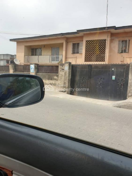 Corner-piece Fully Detached 3 Bedroom Block of Flats, Adekunle Kuye Street, Masha, Surulere, Lagos, Flat / Apartment for Sale