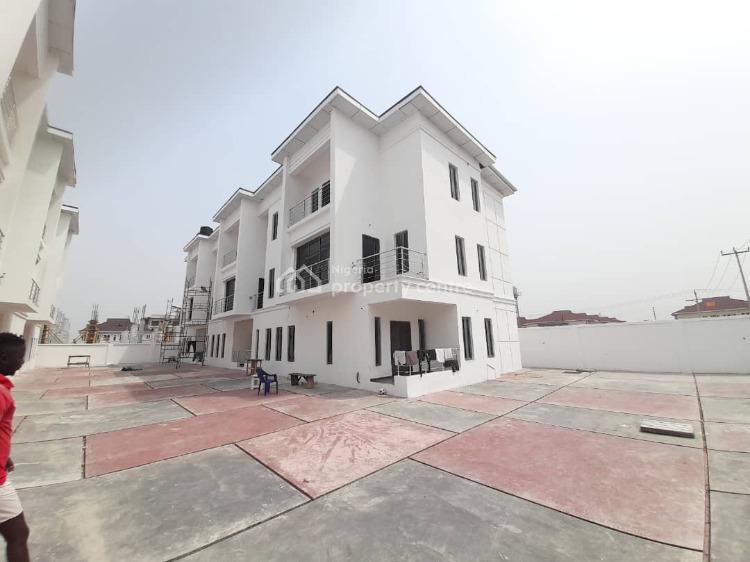 4 Bedroom Terraced Duplex with a Boys Quarter, Osapa, Lekki, Lagos, Terraced Duplex for Sale