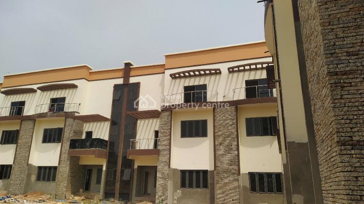 Newly Built 4 Bedroom Terraced Duplex with Attached Bq, Katampe Extension, Katampe Extension, Katampe, Abuja, Terraced Duplex for Sale