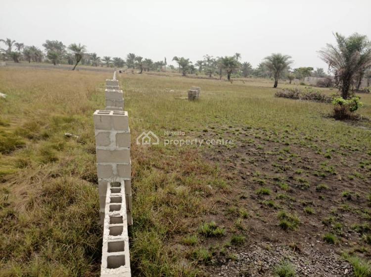 Develop Well Fenced Land for Buy and Build, 3 Minutes From La Campagne Tropicana Beach Resort, Ibeju Lekki, Lagos, Residential Land for Sale