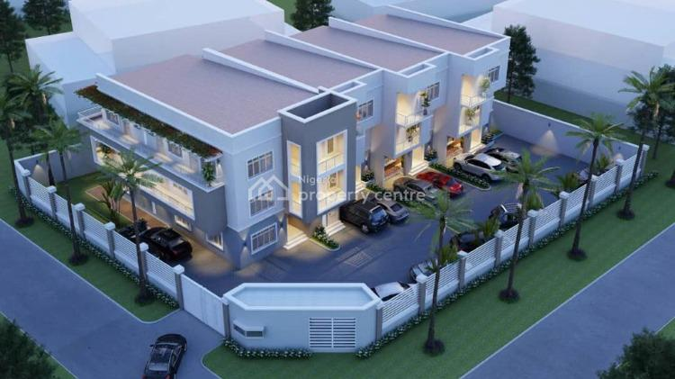 Ongoing 3 Units of 4 Bedroom Terrace Duplex with Bq, Life Camp, Life Camp, Abuja, Terraced Duplex for Sale
