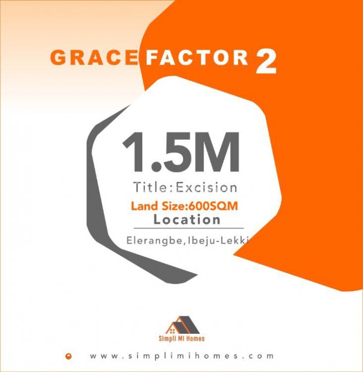 Land, Grace Factor Phase 2, Eleranigbe, Ibeju Lekki, Lagos, Residential Land for Sale