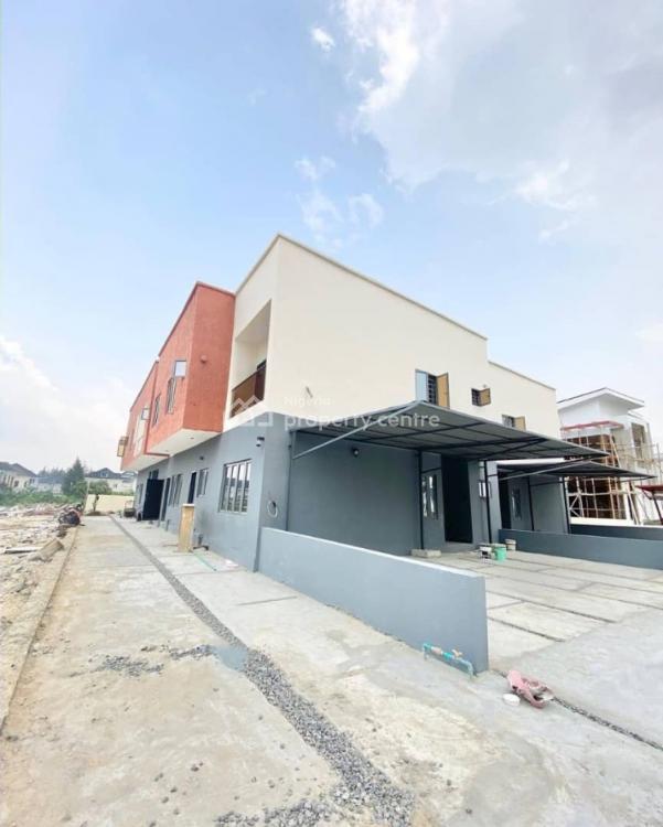 Well Finished & Serviced 4 Bedroom Semi-detached Duplex with a Room Bq, Orchid Hotel Road, Lafiaji, Lekki, Lagos, Semi-detached Duplex for Sale