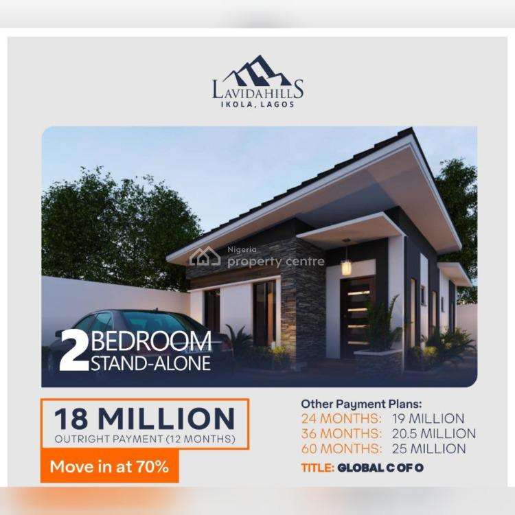 2 Bedrooms Stand Alone Bungalow, Ipaja, Lagos, Detached Bungalow for Sale