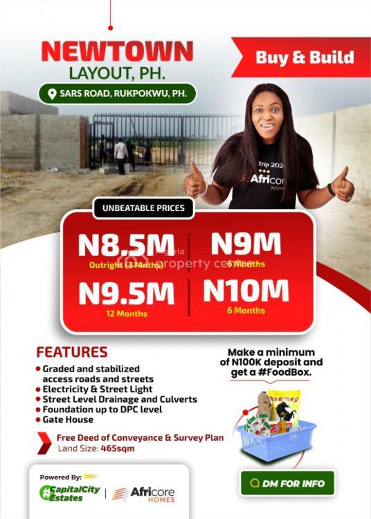 Land, Newton Estate, Rukpokwu, Port Harcourt, Rivers, Residential Land for Sale