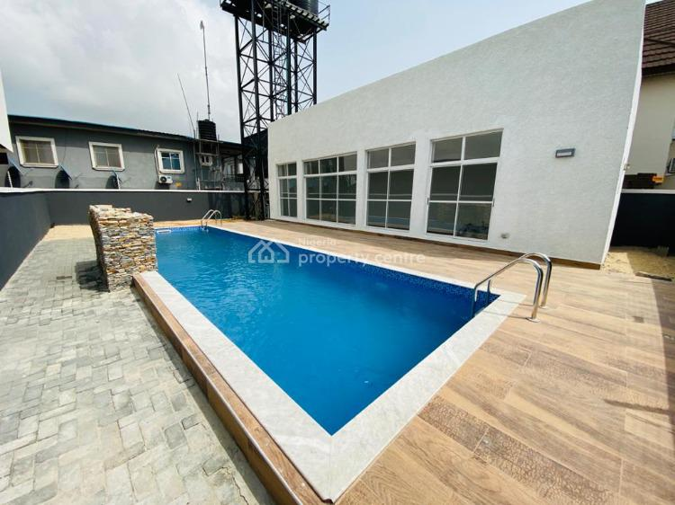 Lovel Furnished Luxurious 4 Bedroom Terraced Duplex with Swimming Pool, Ikate, Lekki, Lagos, Terraced Duplex Short Let
