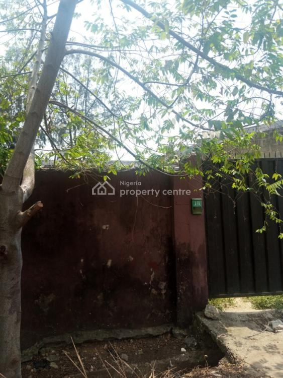 Gated Empty Land with Uncompleted Building / Church Space, Bode Thomas, Surulere, Lagos, Commercial Land for Rent