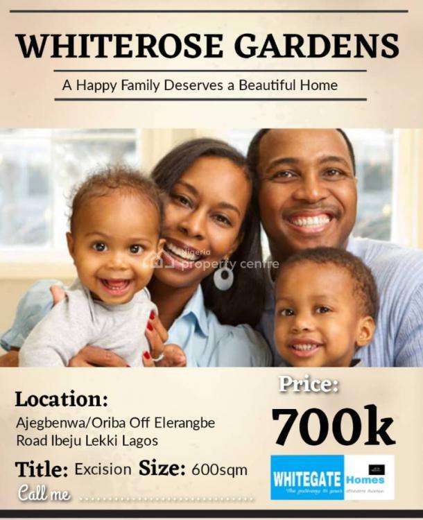 Ready to Build Estate, Ajegbenwa, Oriba Town, Ibeju Lekki, Lagos, Mixed-use Land for Sale