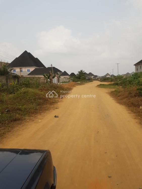 Massive Fenced Plot of Land, Osongoma Estate, Uyo, Akwa Ibom, Residential Land for Sale