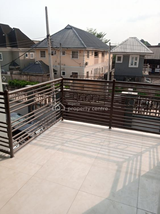 Luxury Virgin 3 Bedroom Flat with Selfcontain Bq, Off Pearls Garden Estate Shell Cooperative Y, Eneka, Port Harcourt, Rivers, Flat / Apartment for Rent
