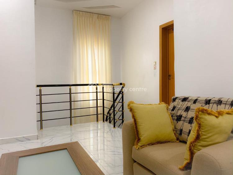 Lush 3 Bedroom Terrace Duplex, Conservation Road Opposite Chevron, Lafiaji, Lekki, Lagos, House Short Let